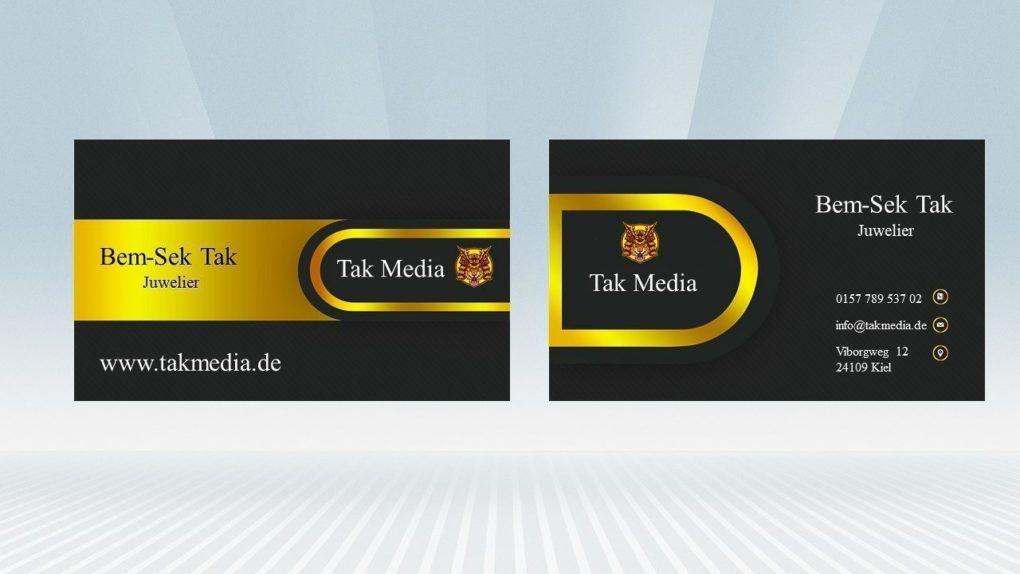 Visitenkarte Tak Media