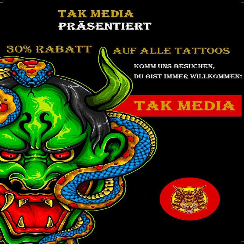 Gutschien Tattoo Tak Media