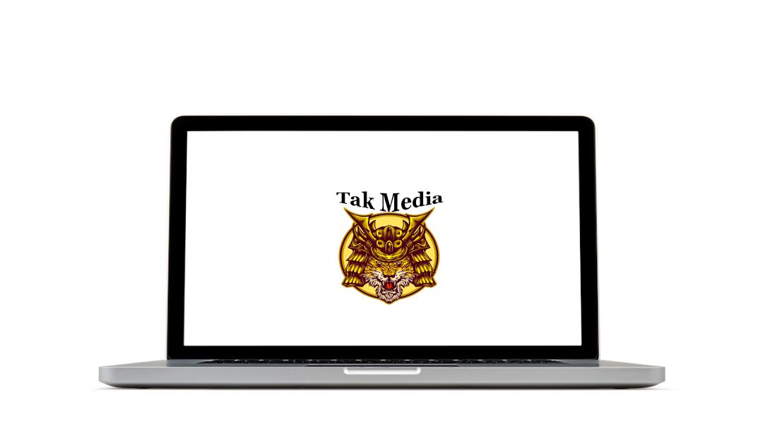 Tak Media Logo Laptop Foto
